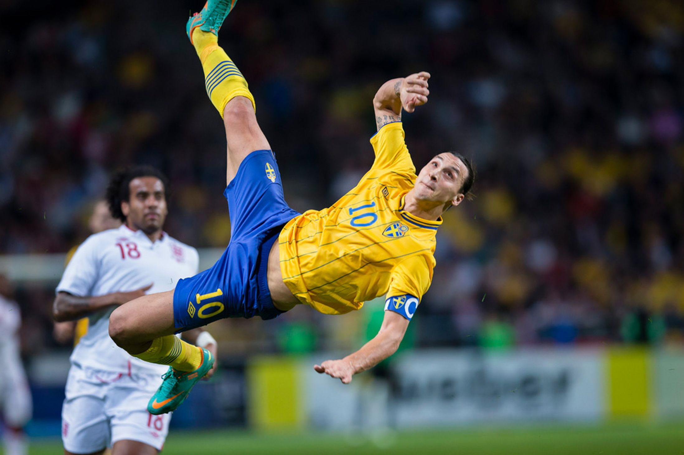 What's going on with Zlatan? Aechilles cursed ? – F comme ... Zlatan Ibrahimovic 2014